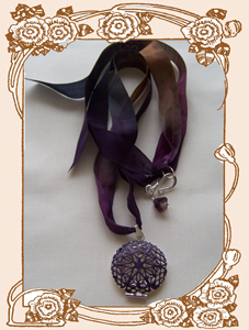 Scent & Momento Locket (Ophelie)