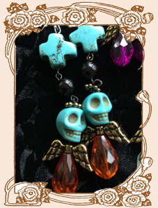 Dia de los Muertos Darling Earrings (Color Set)